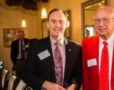 Dean Shane Burgess and Endowed Chair Donor Bob Charles