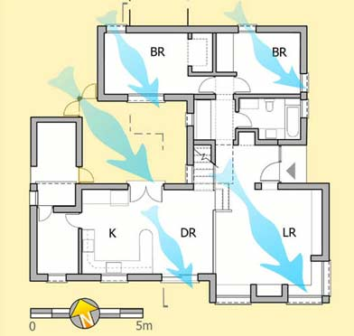 Aln No 47 Pearlmutter Ground Floor Plan Neve Zin House