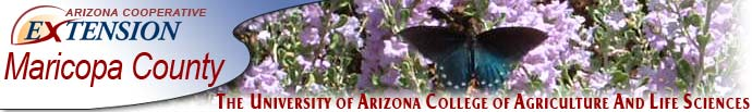 The University of Arizona Cooperative Extension - Taking the University to the People