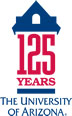 University of Arizona 125 Year Logo