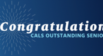 Congratulations CALS Outstanding Senior