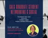 CALS Graduate Student Networking & Social