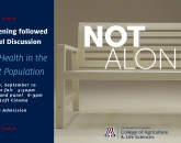 """""""Not Alone"""" Film Screening and Discussion Panel"""
