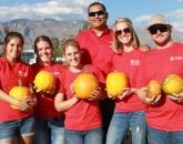 CALS Ambassadors Harvest Pumpkins and Marketable Skills