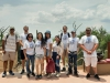 Students in the Summer REU program pose for a group photo at the Arizona Sonoran Desert Museum