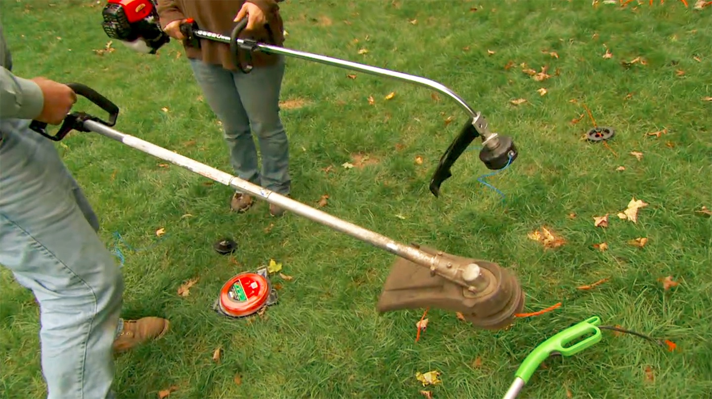 Backyard Gardener String Trimmer Selection and Safety November